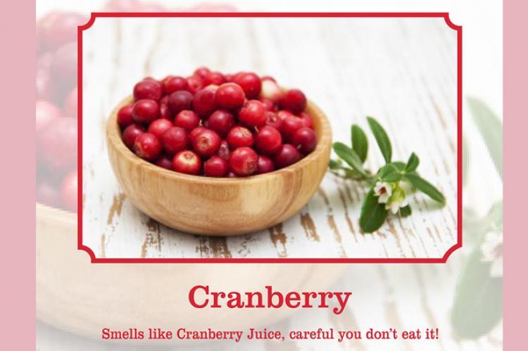 cranberry scent