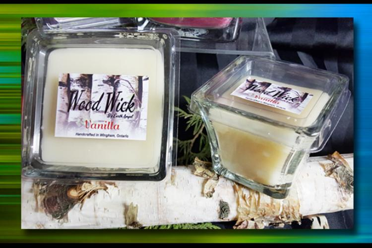 Vanilla Wood Wick candles