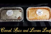 Carrot Spice and Lemon Loaf candles